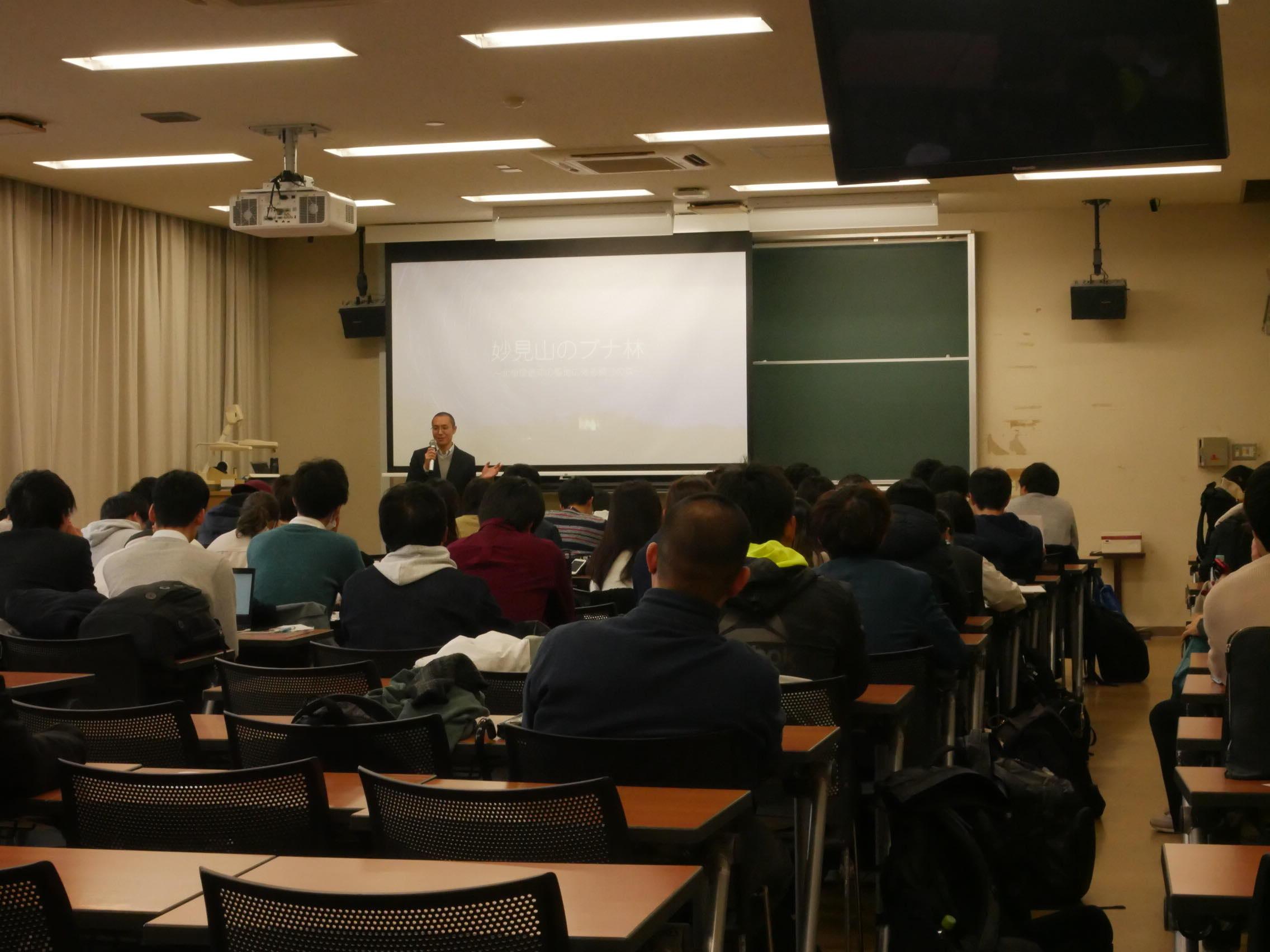 植田事務局長と一緒に、大阪教育大学に行ってきました!